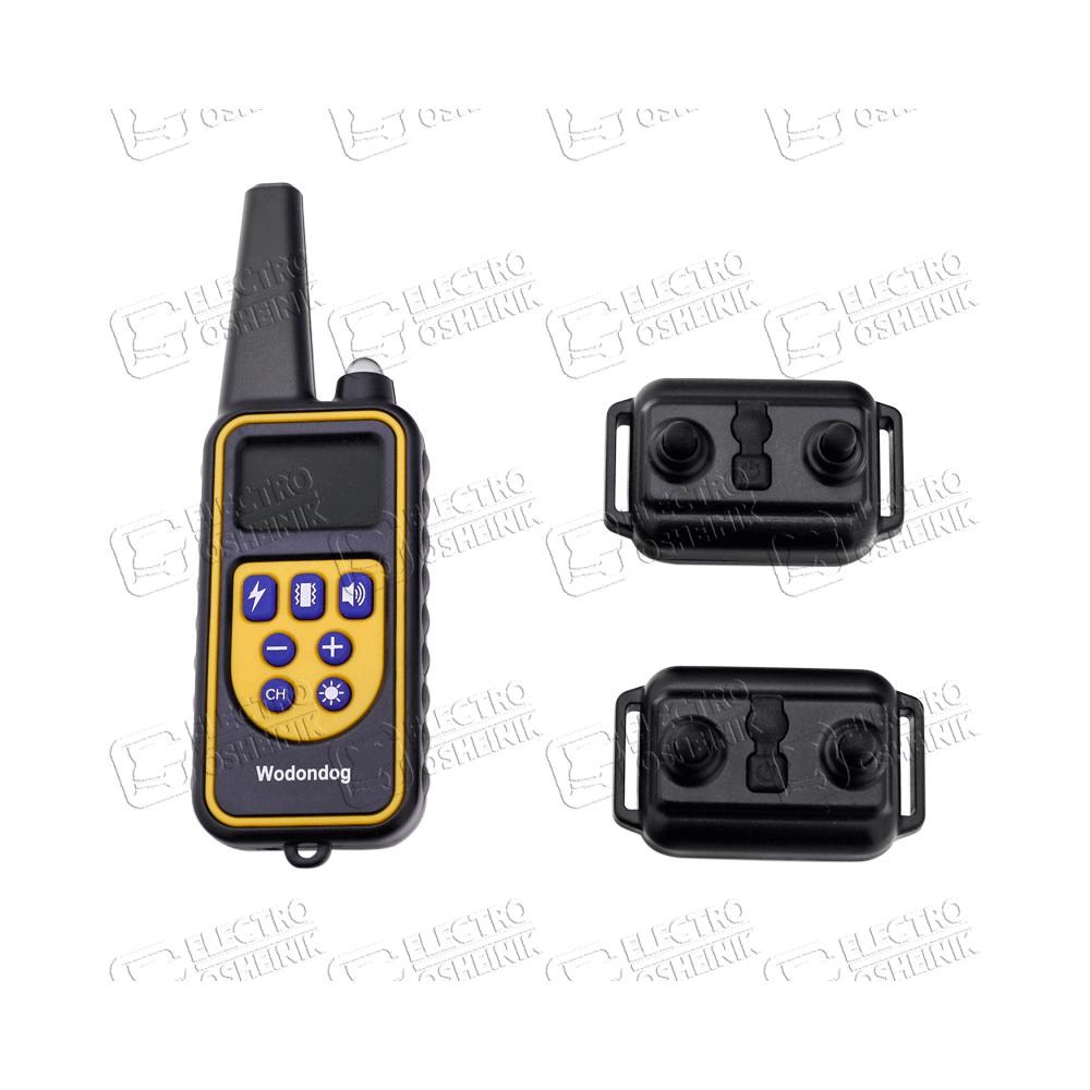 Электронный ошейник  для дрессировки собак L-880-2 (макс. 65 см) (для 2-х собак) - 2